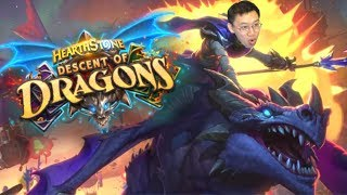 NEW EXPANSION ANNOUNCED! Descent of Dragons! | Hearthstone
