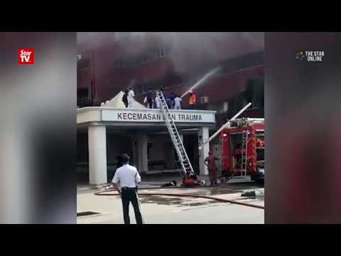 At least six dead in fire at Sultanah Aminah hospital, rescue work continues