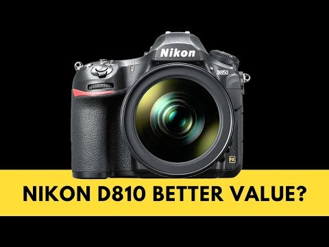 Nikon D810 vs Nikon D850 - Is the D810 the BETTER VALUE at Current Prices?