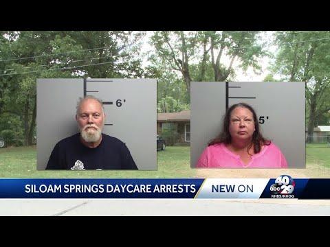 Siloam Springs daycare arrests.