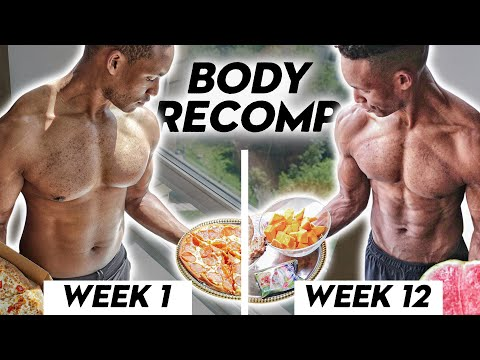 How To Build Muscle And Lose Fat At The Same Time: Step By Step (Body Recomposition)