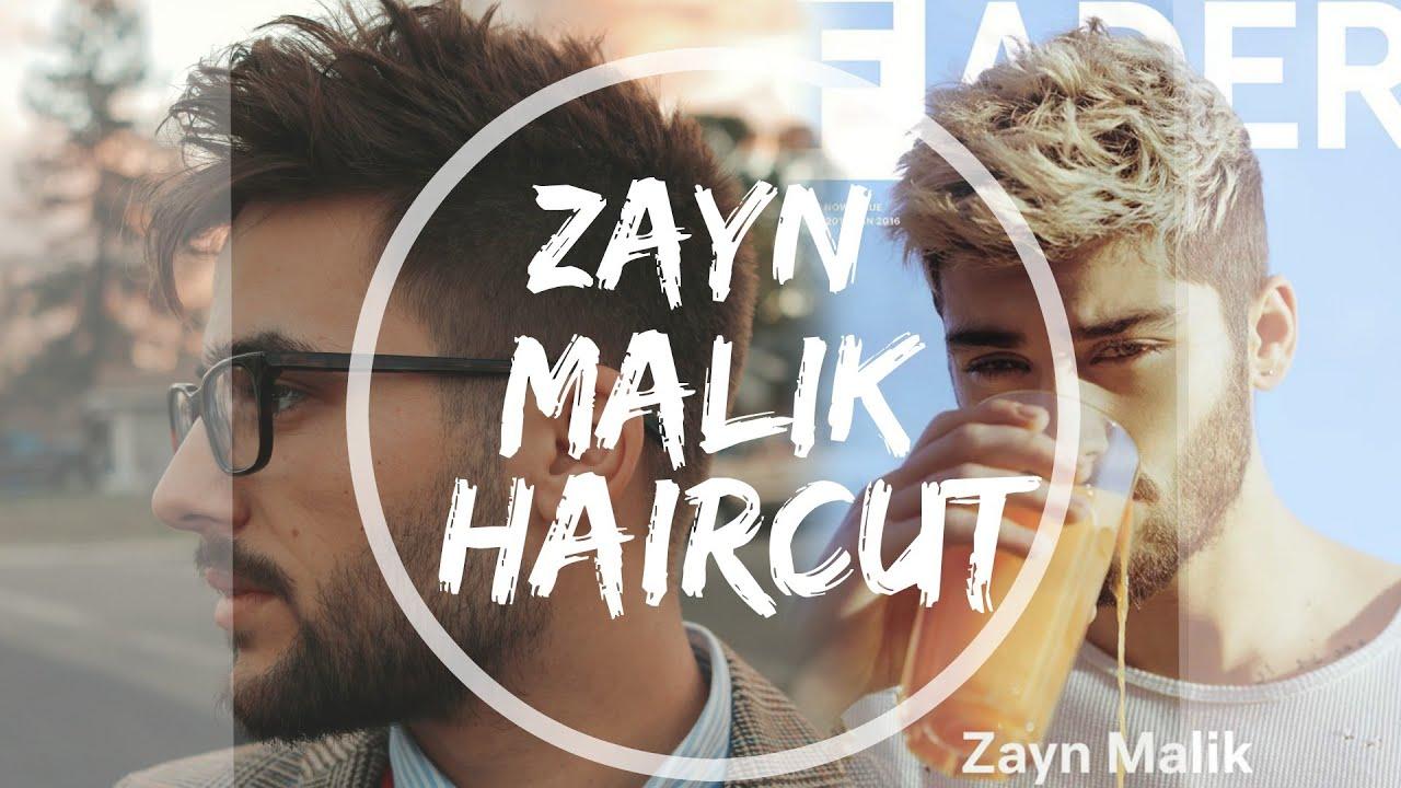 Mens textured haircut