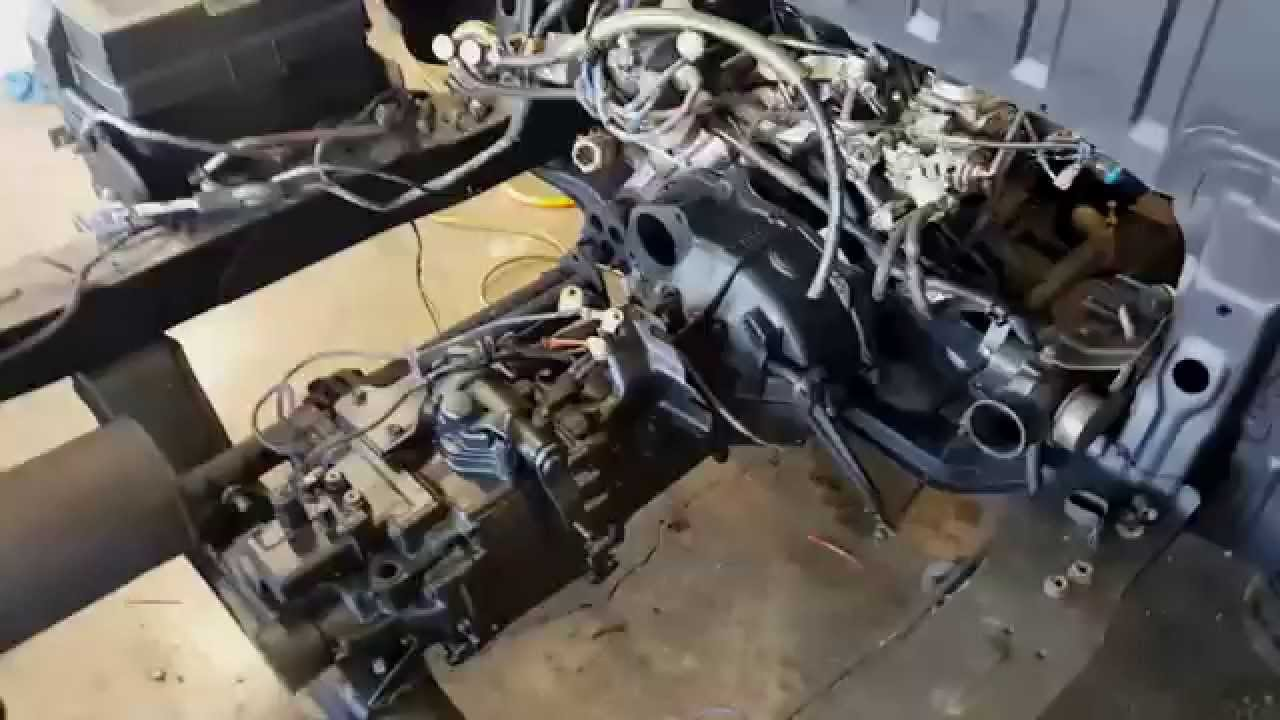 1988 Suzuki Carry DB71T Engine Swap Part 9  YouTube
