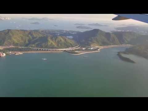 American Airlines DFW-HKG 777-300ER Economy Class Full Flight