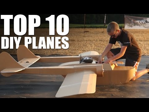 Top 10 DIY Planes of 2016 | Flite Test