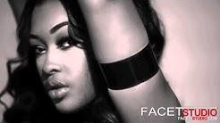 MIracle Watts bts  BONDAGE Photoshoot with Facet Studio