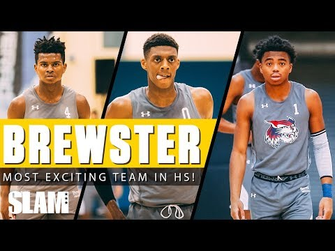 Jalen Lecque and Brewster are The Most Exciting Team in High School Basketball 🚀 | SLAM Highlights