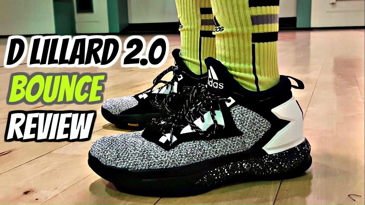 c219cc80bbb46 Adidas D Lillard 2.0 Bounce Performance Review! - YouTube