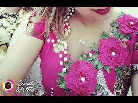 أكثر من 50 موديل قنادر بالورد يهبلو Gnader Aux Fleurs 2018