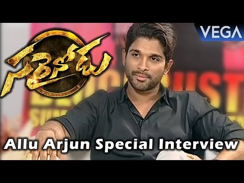 Allu Arjun Special Interview about Sarrainodu Movie