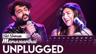 🔴 Maruvaarthai - Live Performance By Sid Sriram | Enai Noki Paayum Thota, Dhanush