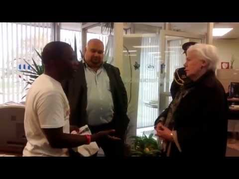 Lt. Governor of Ontario Elizabeth Dowdeswell in support to Help Fight Ebola
