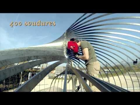 Construction de la Cabane Pi[e] aux Jardins Fruitiers - Laquenexy