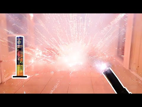 Lighting Fireworks Inside My House!