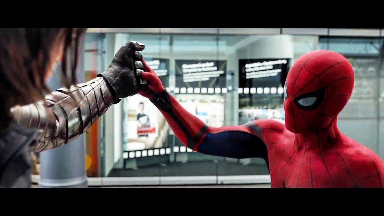 Homem Aranha VS Bucky