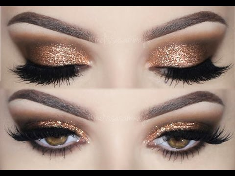 Prom Make Up Tutorial | Smokey Eyes and Glitter!