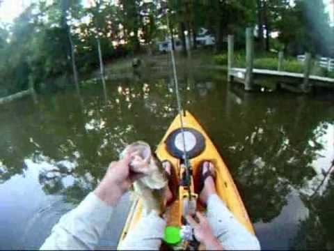 Bass fishing at smith lake in va beach youtube for Virginia out of state fishing license