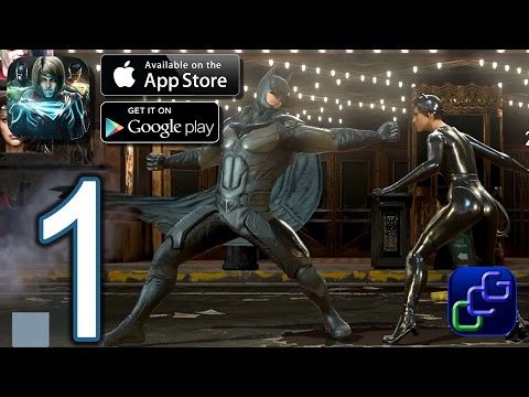 INJUSTICE 2 Android iOS Walkthrough - Gameplay Part 1 - Campaign Chapter 1: Battles 1-6