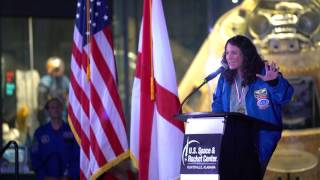 Dr. Serena Auñón-Chancellor - 2017 Space Camp Hall of Fame Induction Ceremony