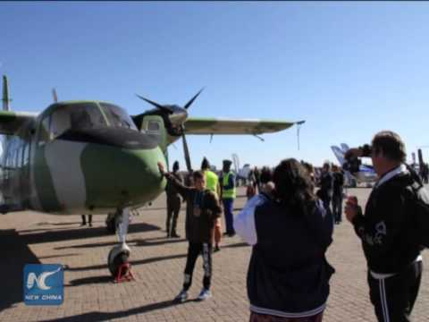 China's Y-12 plane makes performance debut overseas