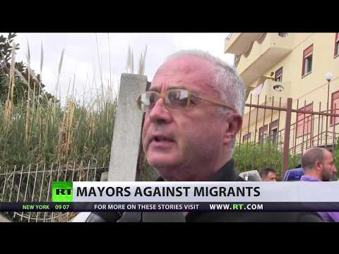 'We've been invaded': Italian mayor slams govt's policy on migrants