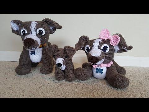 Amigurumi Boxer Dog : Crochet Amigurumi Boxer Dog Part 1 of 3 DIY Video Tutorial ...