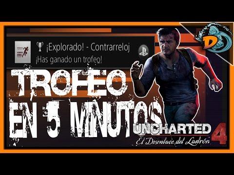 Truco/Guía | Uncharted 4 - Trofeo: ¡Explorado! - Contrarreloj en 5 minutos