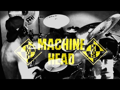 Drum cover Jesus PS - Machine Head - Who We Are (HD 1080p)