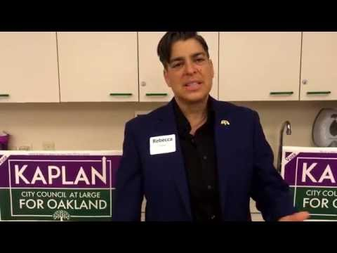 Kaplan for Oakland City Council At Large 2016