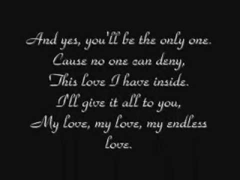 Lionel Richie & Diana Ross  - My Endless Love w/ Lyrics
