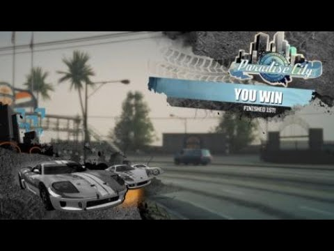 PS4 Burnout Paradise Remastered F1 way to win and all takedowns this race.