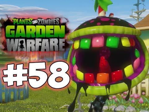 Plants Vs. Zombies - GARDEN WARFARE - PART 58 - Candy Chomper! (HD ...