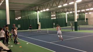 Andy Hill Cardio Tennis Doubles Chase