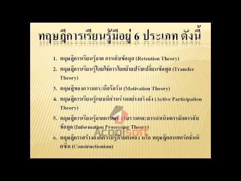 ทฤษฎีการเรียนรู้ นาน.mp4