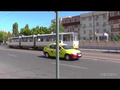 75 Tramvaie in Bucuresti / Trams in Bucharest - Sept. 2017