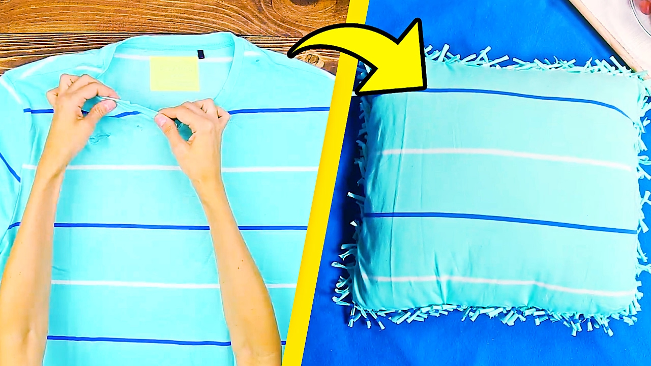 15 Cool Things to Make From Old T-Shirts