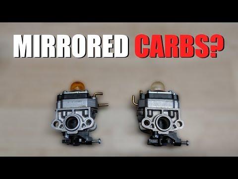 Craftsman Trimmer - Mirrored Carburetors?