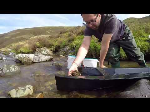 gold panning - Leadhills Wanlockhead