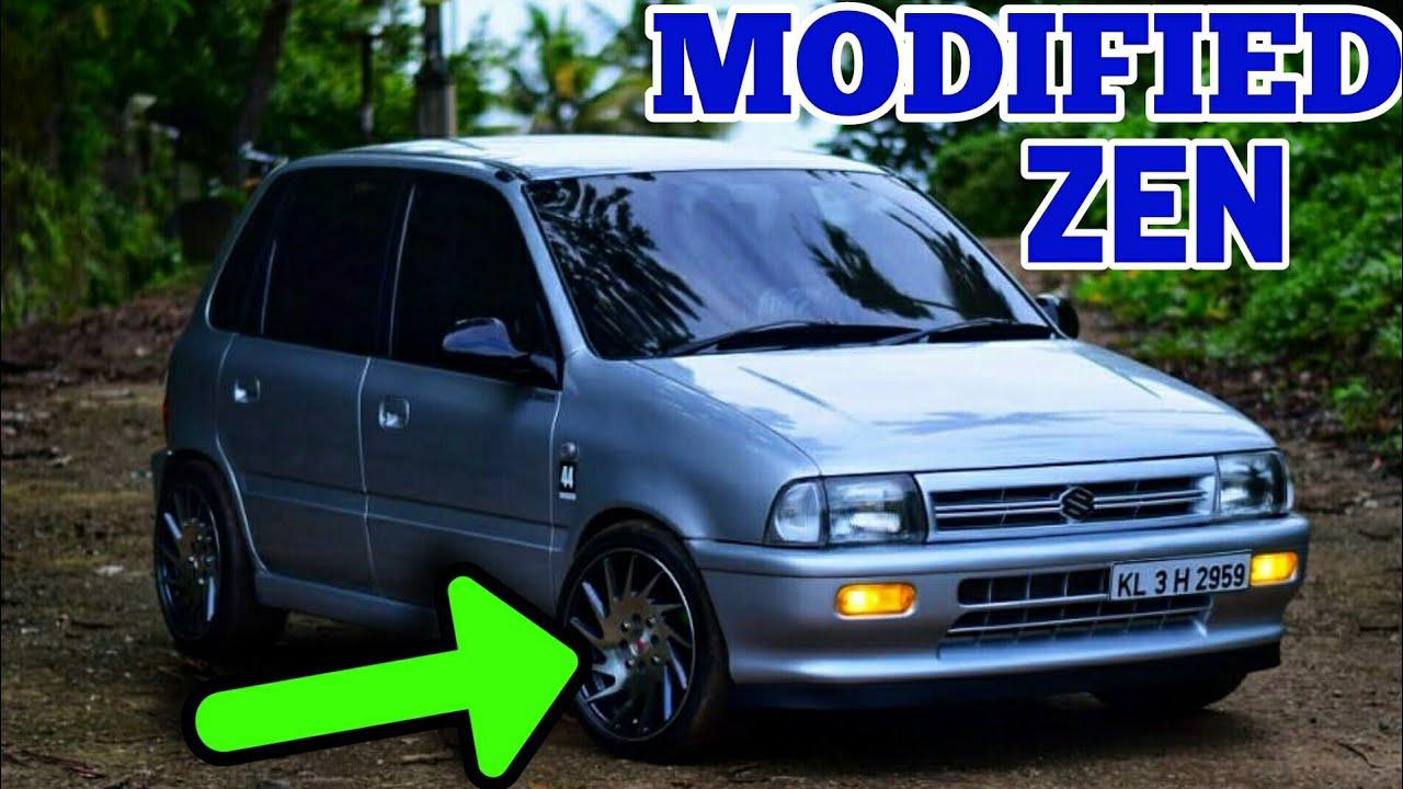 Modified 2003 Model Maruti Suzuki Zen ഇതാണ് modifications ഇതിനെ വെല്ലാൻ അരുമില്ല
