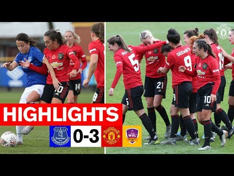 Highlights | Everton Women 0-3 Manchester United Women | FA Women's Continental League Cup