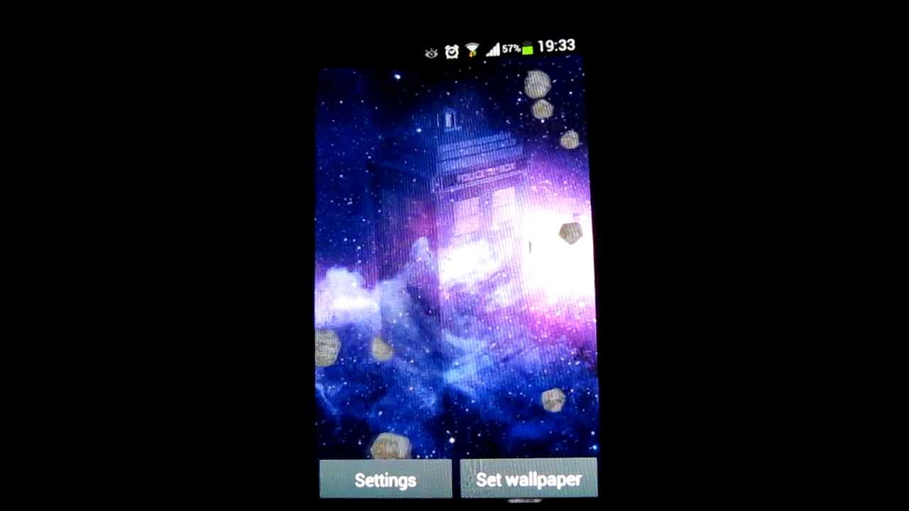 Tardis 3d Live Wallpaper On Android Google Play Youtube