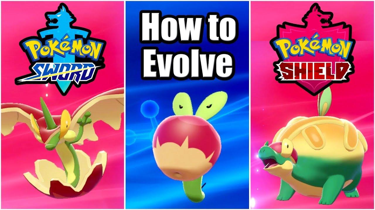 Pokemon Sword And Shield How To Evolve Applin Evolving Applin To Appletun Flapple Youtube