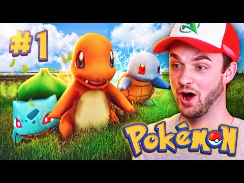 """NEW POKEMON ADVENTURE!"" - Episode #1 w/ Ali-A! (Pokemon GO Minecraft Mod)"