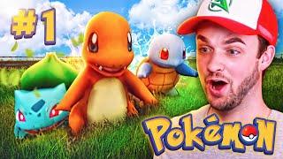 """NEW POKEMON ADVENTURE!"" - Episode #1 w/ Ali-A! (Pokemon GO Minecraft Mod)"
