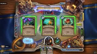 HearthStone  Wild Arena Hunter take 2
