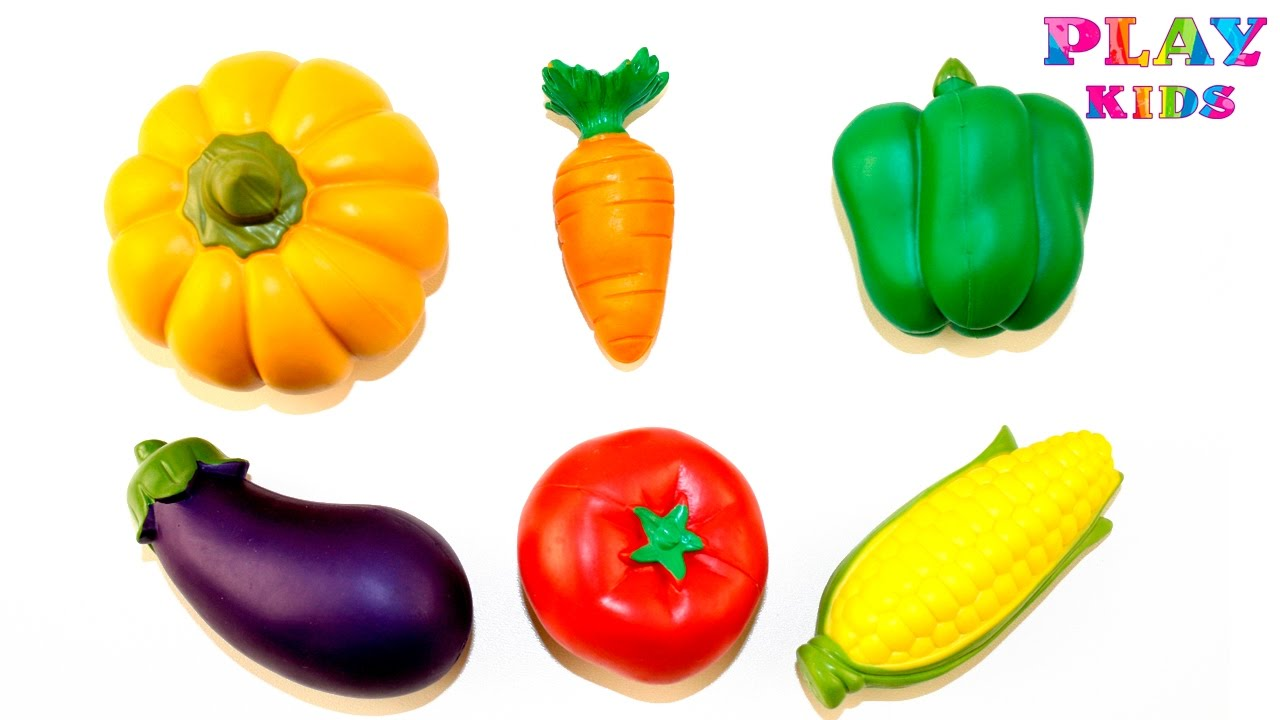 learn fruits and vegetables with toy learn names fruits