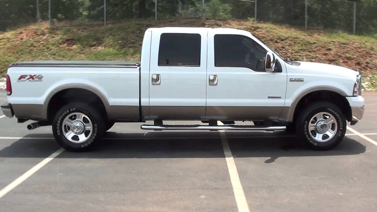 medium resolution of for sale 2006 ford f 250 lariat fx4 heated capt chairs stk p5678