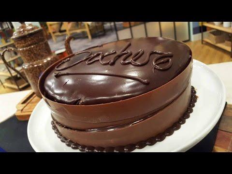 Torta Sacher doble relleno