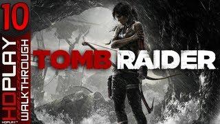 Tomb Raider - Walkthrough PART 10 | Mountain Village + All Collectibles (PC/XBOX360/PS3)