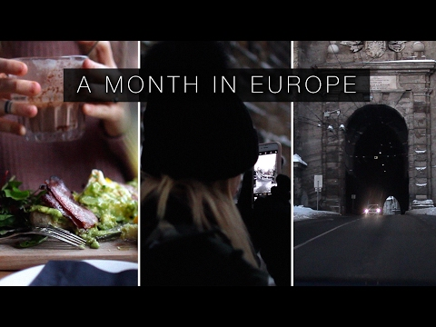 A MONTH IN EUROPE